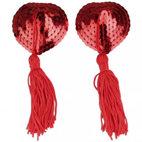 Ozdoba na bradavky Nipple Tassels Red