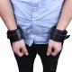 Putá na ruky Soft Hand Cuffs Black