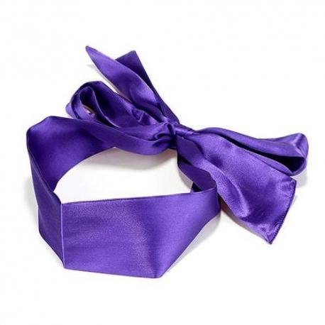 Saténová stuha na prekrytie oči Eye Belt Purple