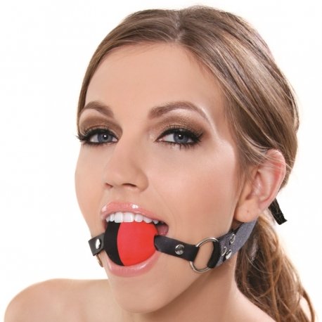 Mlčadlo Two Tone Ball Gag