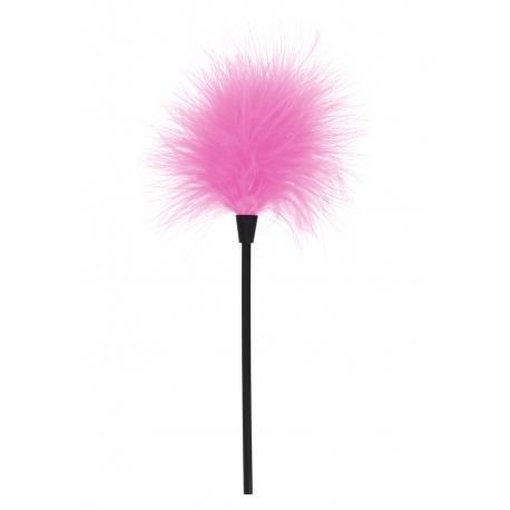 Pierkové ružové šteklítko Sexy Feather Tickler Pink