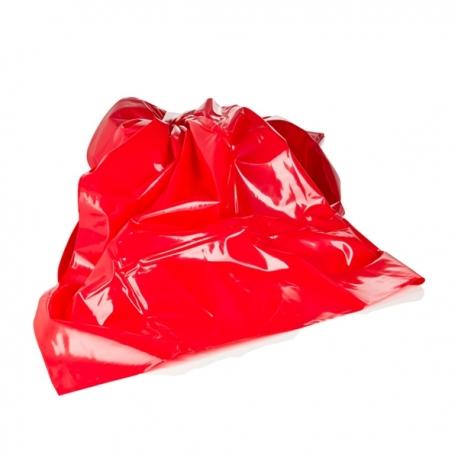 Lakovaná PVC červená plachta Super Strap Sheet Red