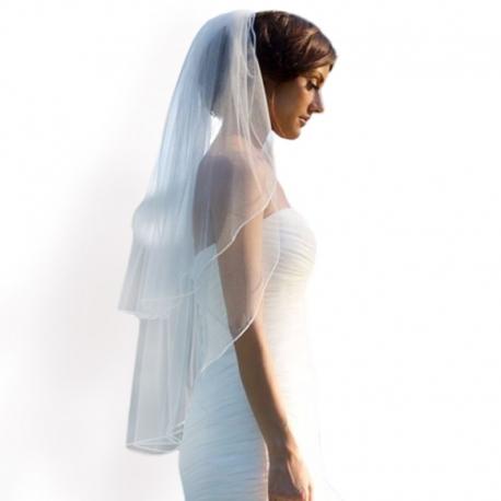 Závoj pre nevestu so sponou Wedding veil
