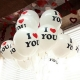 Balóny I LOVE YOU